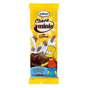 Zahor Chocolate con leche minis tableta 70 gr Tableta 70 gr