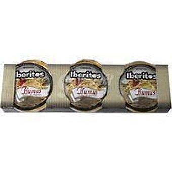 Iberitos Humus Pack 3x25 g