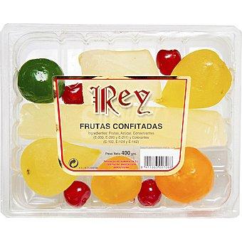 REY Frutas confitadas Bandeja 400 g
