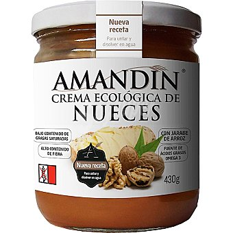 Amandin Crema de nueces ecológica Envase 430 g