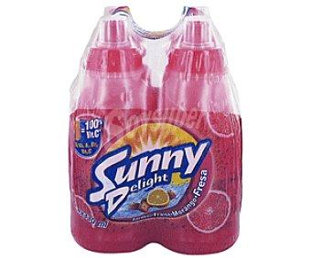 Sunny Delight Refresco Naranja/ Fresa Pack de 4 botellas de 330 ml