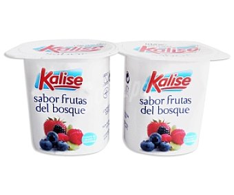 Kalise Yogur sabor Frutas del Bosque 4 Unidades de 125 Gramos