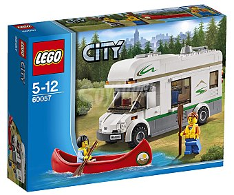 LEGO Juego de Construcciones City, Autocaravana, Modelo 60057 1 Unidad