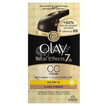 Olay Total Effects CC Cream 7 en 1 día SPF-15 anti-edad + color corrector  Dosificador 50 ml