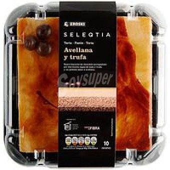 Eroski Seleqtia Tarta de avellana-chocolate Eroski 715 g