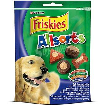 FRISKIES ALLSORTS Sabrosas golosinas para perro  paquete de 90 g