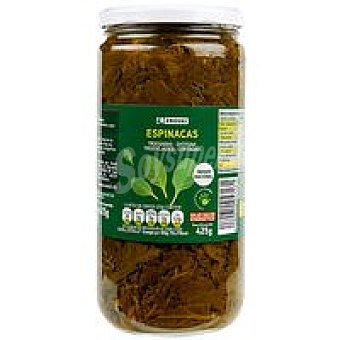 Eroski Espinaca Tarro 425 g
