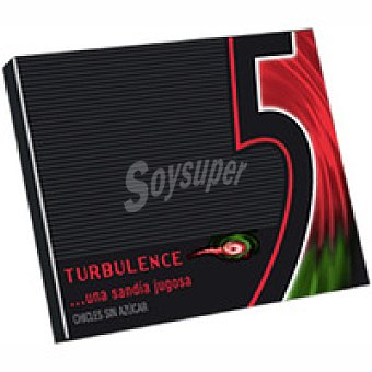 Five Chicle Turbulence Paquete 31 g