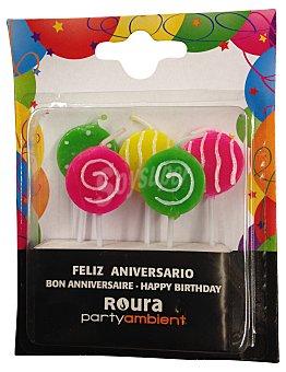 Roura Vela cumpleaños N 5 unidad