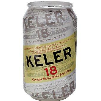 Keler Cerveza rubia nacional Lata 33 cl