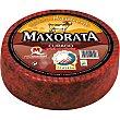 Queso curado de cabra con pimenton D.O. Majorero peso aproximado pieza 35 kg Maxorata