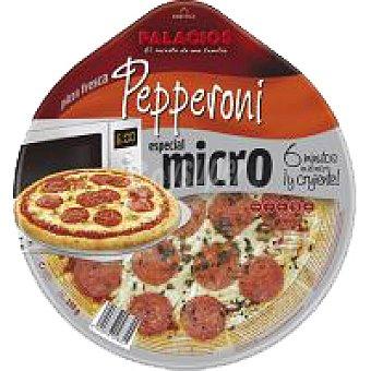 Palacios Pizza para micro. de pepperoni 1 unid