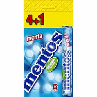 Mentos Caramelos menta Pack 4+1 unid
