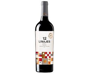 12 Linajes Vino tinto roble con denominación de origen Ribera del Duero roble 12 LINAJES botella de 75 cl. botella de 75 cl