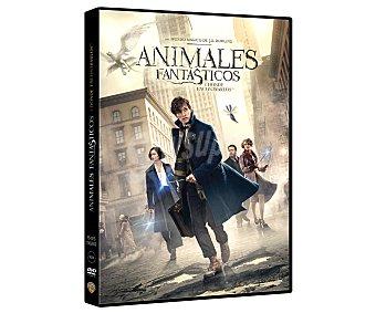 Warner bros Animales fantásticos y dónde encontrarlos, 2016. Película en dvd. Género: Fantasía. Edad: +7