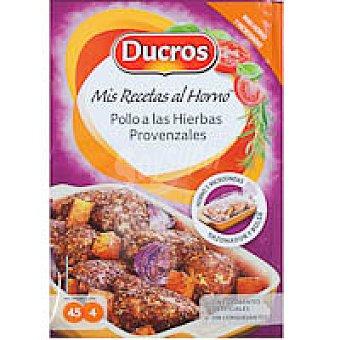 Ducros Sazonador de pollo a las hierbas provenzales Frasco 15