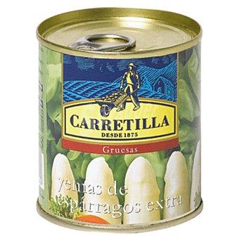 Carretilla Yema gruesa de espárrago Lata 135 g