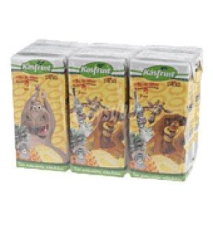 Kasfruit Zumo piña uva Pack de 6x20 cl