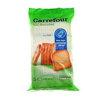 Carrefour Biscotes muy bajo contenido en sal 800 g