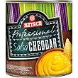 salsa de queso cheddar frasco 300 g Azteca