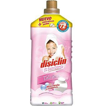 Disiclin Suavizante concentrado frescor Talco Rosa con micro-capsulas de fragancia botella 72 dosis Botella 72 dosis