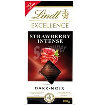 Lindt Chocolate negro excellence fresa 100 g