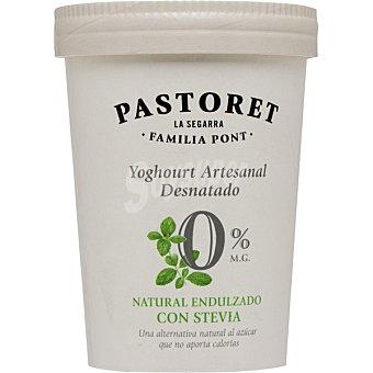 El Pastoret Yogur desnatado con stevia 0% Materia Grasa 500 Gramos