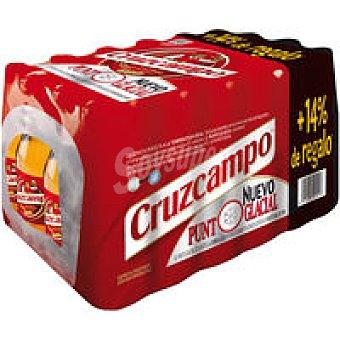 CRUZCAMPO Cerveza pack 24x28,5cl + 14%