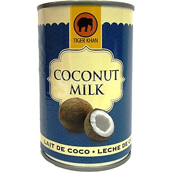 Tiger Khan Leche coco normal lata 400 ml