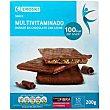 Snacks de chocolate-leche Caja 200 g Eroski