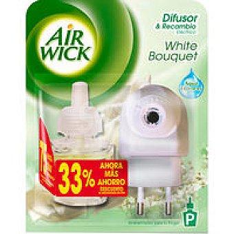 Air Wick Ambientador duplo white 1 unid