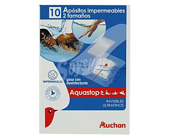 Auchan Apósito Impermeable 10 Unidades