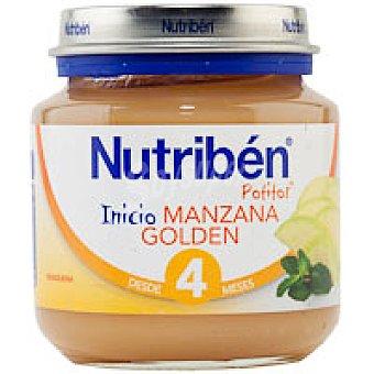 Nutribén Potito de inicio de manzana goldén 130 g