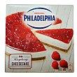 Tarta de queso con frambuesas caja 390 gr Caja 390 gr Philadelphia