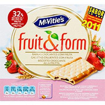 McVities Fruit&form con yogur-fresa Caja 213 g