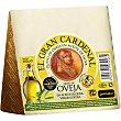 Queso curado de oveja en aceite de oliva cuña 250 g EL GRAN CARDENAL