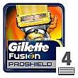 Recambio de maquinilla de afeitar Blister 4 unidades Gillette Fusion Proshield