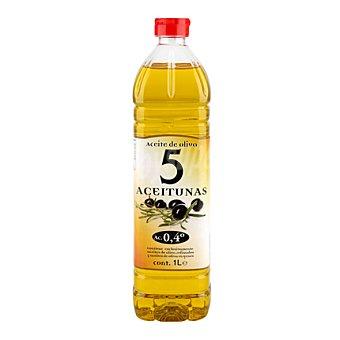 5 Aceitunas Aceite de oliva 0,4° 1 l