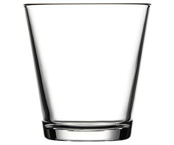 DISELMA Pack de 6 vasos de agua modelo City, con capacidad de 30,8 centilitros y fabricados en vidrio 1 Unidad
