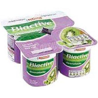 Eroski Bioactive 0% con kiwi Pack 4x125 g