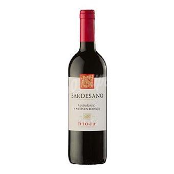 Bardesano Vino D.O. Rioja tinto 6 meses en bodega 75 cl