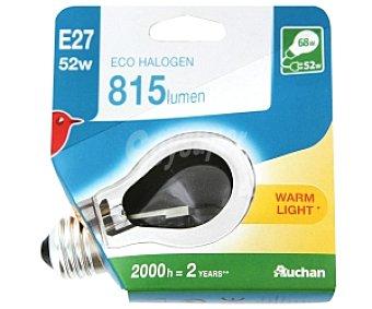AUCHAN Bombilla EcoHológena Estándar E27 53W 1 Unidad