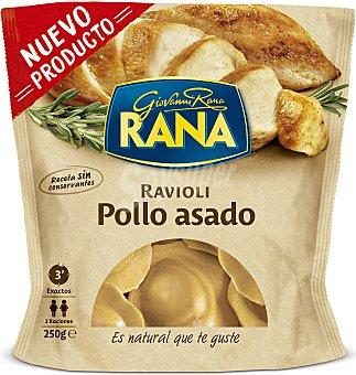 Rana Raviolis frescos rellenos de riquísima carne de pollo asado 250 g