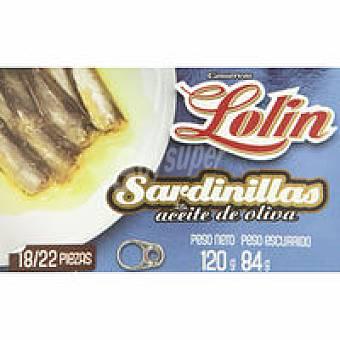 Lolín Sardinillas en aceite de oliva Lata 120 g