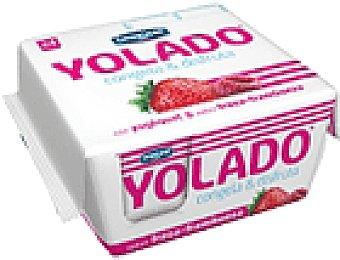 Yolado Danone YOLADO FRESA-FRAMBUE 4 UNI