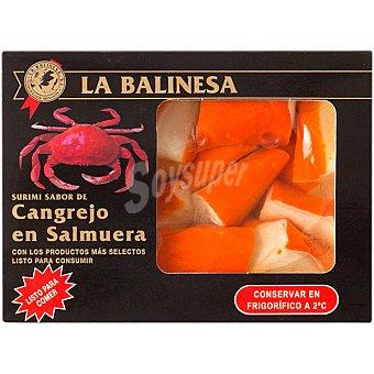 LA BALINESA Surimi sabor cangrejo en salmuera envase 300 g Envase 300 g