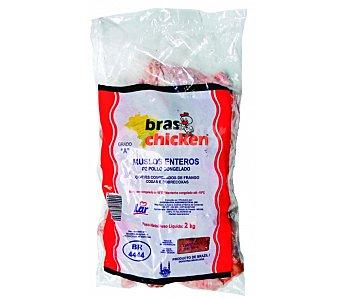 BRAS CHICKEN Muslos de pollo congelados 2 kg