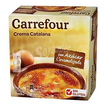 Carrefour Crema catalana - Sin Gluten 155 g
