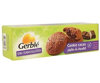 Gerblé Cookies con chips de chocolate sin gluten Envase 150 g