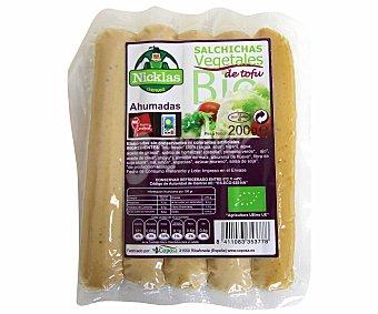 Nicklas Salchichas de tofu de cultivo ecológico ahumadas 200 gr